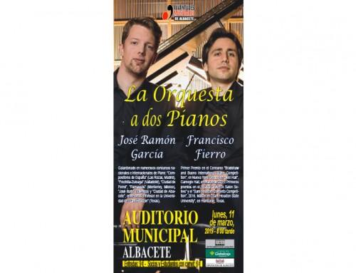 La orquesta a dos pianos